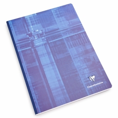 Clairefontaine A4 Cloth Bound Notebook (8.25 x 11.75) in French Ruled (lined pages) [69141]
