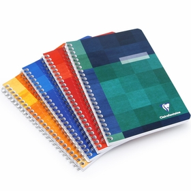Clairefontaine Classic Side Spiral Bound Notebook (6 x 8.25) in Graph (squared pages) [8542]