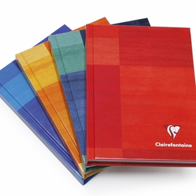 Clairefontaine Pocket Plain Hard Cover Notebook (4.25 x 5.75) in Plain (blank pages) [69490]