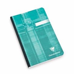 Clairefontaine Pocket Ruled Cloth Bound Notebook (4.75 x 6.75) in Ruled (lined pages) [9606]
