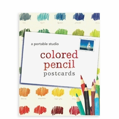 Colored Pencil Postcards