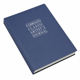Fabriano Classic Blue Large Artist's Journal (6.25 x 8.25) in Large (6.25 x 8.25)