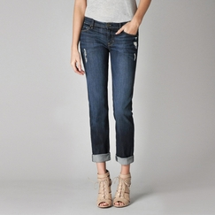 Fidelity Jeans Axl Adanac Relaxed Skinny Jean in Town & Country Denim