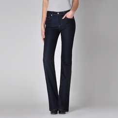 Fidelity Jeans Lily Boot Cut Jean in Viper Rinse Blue