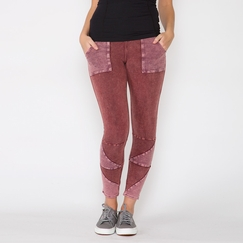 Free People Kyoto Legging in Rust