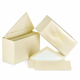 G. Lalo Mode de Paris Boxed Stationery (3.75 x 6) in Ivory