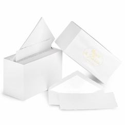 G. Lalo Mode de Paris Boxed Stationery (3.75 x 6) in Extra White