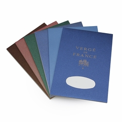 G. Lalo Verge De France Medium Tablet (5.75 x 8.25) in Blue