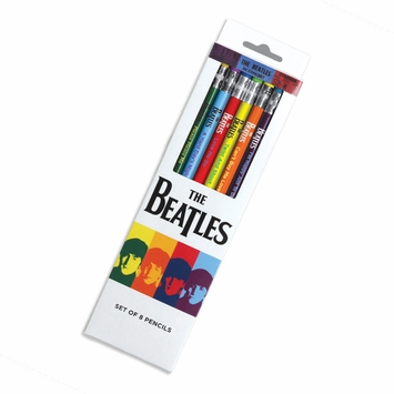 Galison Pop Culture Pencil Sets in The Beatles