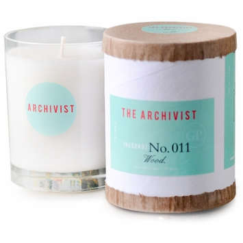 Greenmarket Purveying Co. The Archivist Vegetable Soy Candle in No. 011 Wood