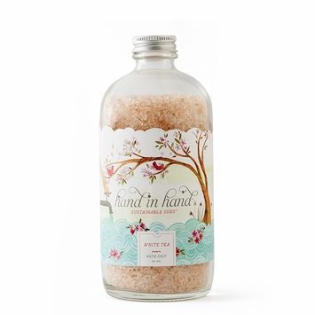 Hand in Hand Purifying Pink Bath Salts in White Tea
