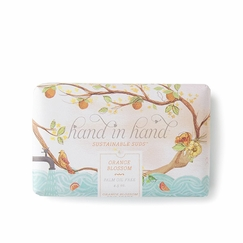 Hand in Hand Triple Milled Shea Butter Soap in Orange Blossom