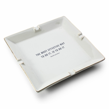 Izola Ceramic Catchall in Earhart Quote