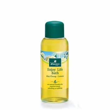 Kneipp Herbal Bath Oils in May Chang & Lemon (Enjoy Life)