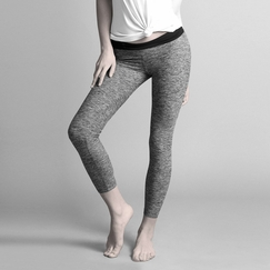 Koral Activewear Mystic Legging in Heather/Black