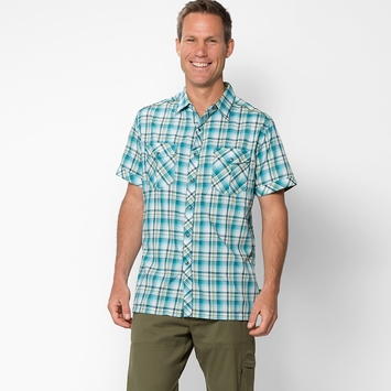 Kuhl Konquer Short Sleeve Shirt in Skuba Lime
