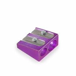 KUM Magnesium 2 Hole Pencil Sharpener in Purple