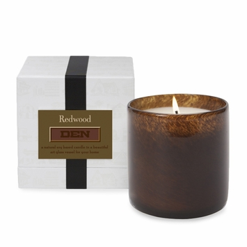 Lafco House and Home Candle in Den (Redwood)
