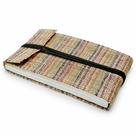 Hemp Lama Li Extra Large Hemp Notebook (6.25 x 11) in Colored