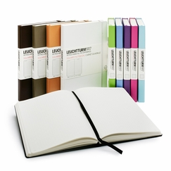 Leuchtturm1917 Large Hard Cover Squared Notebook (5.75 x 8.25) in Black
