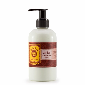 Lotus Love Beauty Body Lotion in Ananda (Citrus & Saffron)