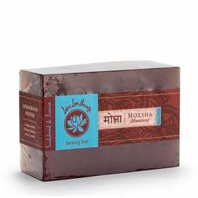 Lotus Love Beauty Glycerin Bar Soap in Moksha (Sandalwood & Incense)