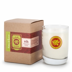 Lotus Love Beauty Kalava Soy Candle in Shatki (Verbena & Coconut)