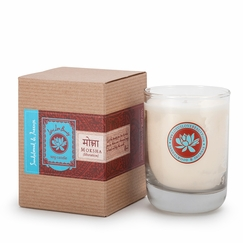Lotus Love Beauty Kalava Soy Candle in Moksha (Sandalwood & Incense)
