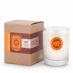 Lotus Love Beauty Kalava Soy Candle in Surya (Hibiscus & Marigold)