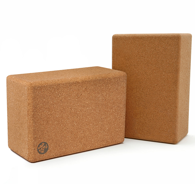 Manduka Yoga Cork Block Yoga Apparel Amp Mats At Vickerey