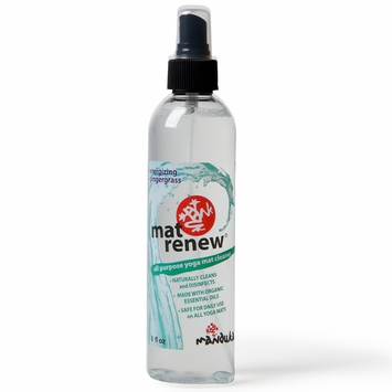 Manduka Yoga Mat Renew Spray in Energizing Gingergrass