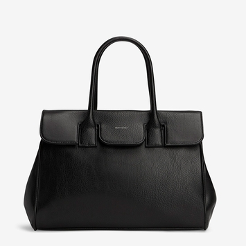 Eco Matt & Nat Clarke Bag in Black