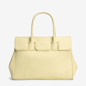 Eco Matt & Nat Clarke Bag in Lemonade