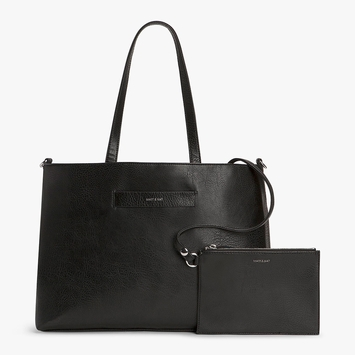 Eco Matt & Nat Lesada Tote in Black