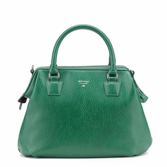Eco Matt & Nat Malone Satchel in Green