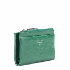 Eco Matt & Nat Motiv Wallet in Green