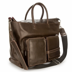 Eco Matt & Nat Raylan Traveler in Brown