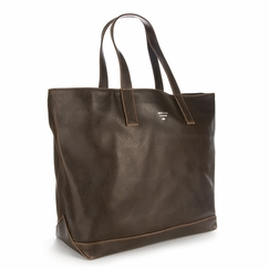 Eco Matt & Nat Schlepp Vintage Tote in Brown