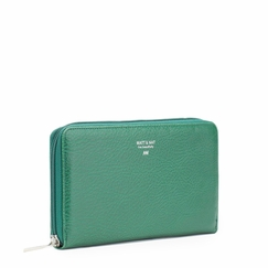 Eco Matt & Nat Trip Wallet in Green