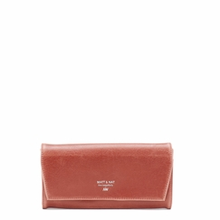 Eco Matt & Nat Vera Wallet in Paprika