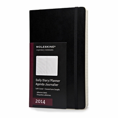 Moleskine 2014 Large Soft Cover Daily Planner (5 x 8.25)