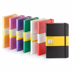 Moleskine Classic Large Squared Notebook (5 x 8.25) in Red