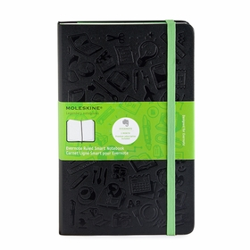 Moleskine Evernote Large Ruled Smart Notebook (5 x 8.25)