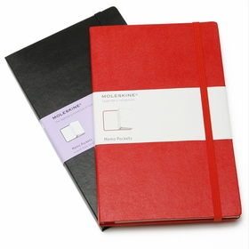 Moleskine Large Memo Portfolio (5 x 8.25) in Red