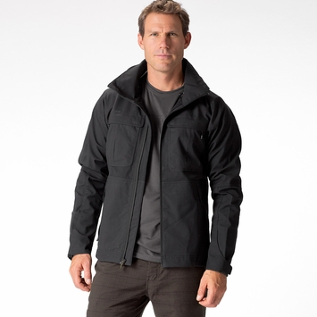 Eco Nau Shroud of Purrin Jacket in Caviar