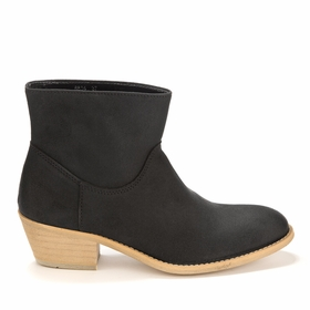 Novacas Janis Boot in Black Suede