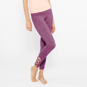 Om Girl Concept Legging in Boysenberry
