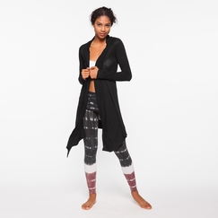 Om Girl Divine Cardi in Black