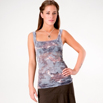 Om Girl Goddess Tank ( Midnight Surreal )