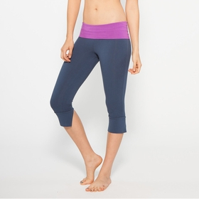 Organic Om Girl Kirtan Capri in Broadway Berry